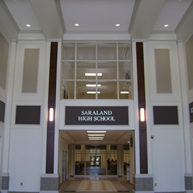 Saraland High School</br>Interior